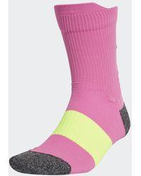 adidas Running Ultralichte Performance Sokken - Roze
