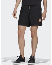 adidas Pantalón corto Adiplore Woven - Negro