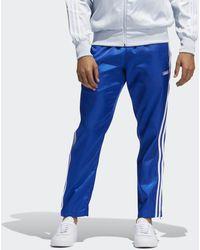 adidas Sprt Satin Firebird Trainingsbroek - Blauw