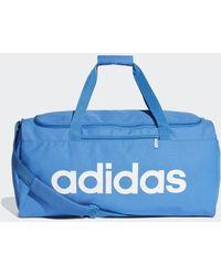 adidas Linear Core Duffeltas Medium - Blauw