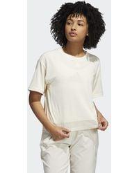 adidas T-shirt da allenamento HEAT.RDY Mesh - Bianco
