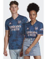 adidas Arsenal 20/21 Third Jersey - Blue