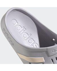 adidas Adilette Instappers - Grijs
