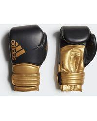 adidas Guantes de boxeo Hybrid 300 - Metálico