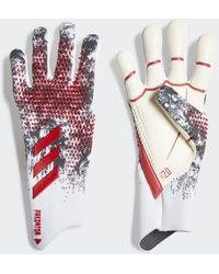 adidas Predator 20 Pro Manuel Neuer Torwarthandschuhe - Rot