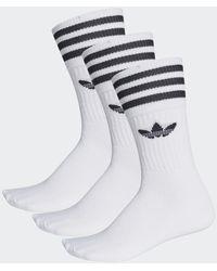 adidas Socken im 3er-Pack in Weiß