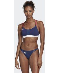 adidas All Me Beach Bikini Topje - Blauw