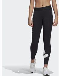 adidas Must Haves Colorblock 7/8-Tight - Schwarz
