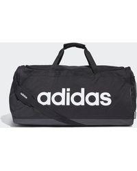 adidas Linear Logo Duffel Large Black