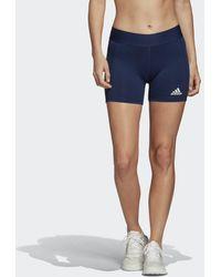 adidas Techfit Volleyball Short - Blauw