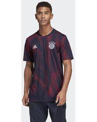 adidas FC Bayern München Home Pre-Match Shirt - Blau