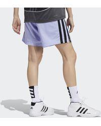adidas Women In Power Aeroready Short - Paars