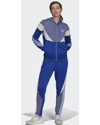 adidas Sportswear Colorblock Trainingspak - Paars