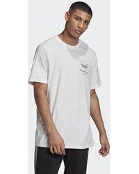 adidas T-shirt London Logo - Bianco