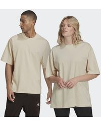 adidas T-shirt Adicolor Trefoil - Blanc