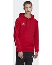 adidas Capuchonsweatshirt Core 18 - Rood