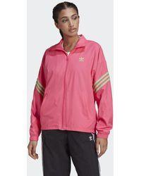adidas Trainingsjack Met Swarovski® Kristallen - Roze