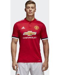 3293ad8ce adidas 2017-2018 Man United Home Shirt (rashford 19) - Kids Men s T ...