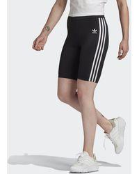 adidas Adicolor Classics Primeblue High-waisted Korte Legging - Zwart