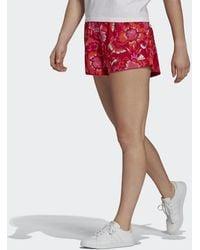 adidas - Farm Rio Floral Print Short - Lyst