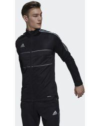 adidas Tiro Reflecterend Trainingsjack - Zwart