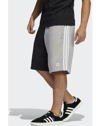 adidas Blocked 3-stripes Joggingshort - Grijs