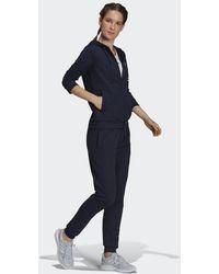 adidas Tuta Essentials Logo French Terry - Blu