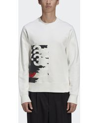 adidas Y-3 CH1 Graphic Sweatshirt - Weiß