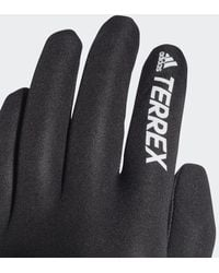 adidas TERREX GORE-TEX INFINIUM Handschuhe - Schwarz