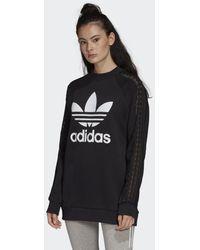 adidas Bellista Trefoil Lace Sweatshirt - Zwart