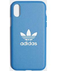 adidas Basic Logo Case Iphone X - Blauw