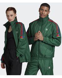 adidas Track jacket 3D Trefoil 3-Stripes - Verde