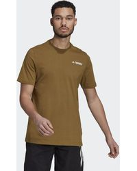 adidas Terrex Mountain Graphic T-shirt - Bruin