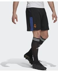 adidas Real Madrid Tiro Trainingsshorts - Schwarz