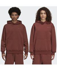 adidas Pharrell Williams Basics Hoodie (uniseks) - Bruin