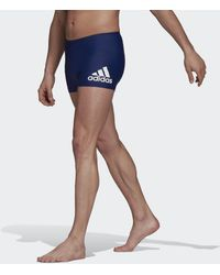 adidas Boxer de natation Badge Fitness - Bleu