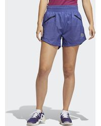 adidas Primeblue Colorblock Shorts - Purple