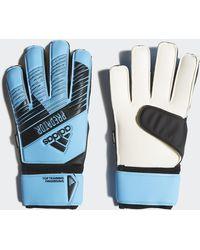 adidas Predator Top Training Fingersave Goalkeeper Gloves - Blue