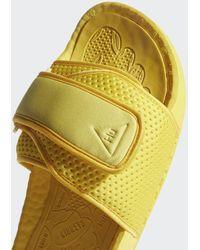 adidas Pharrell Williams Chancletas Hu Badslippers - Metallic