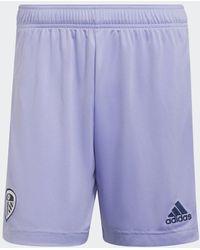 adidas Leeds United Fc 21/22 Derde Short - Paars