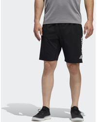 adidas 4krft 3-stripes 9-inch Short - Zwart