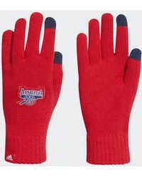 adidas Guantes Arsenal - Rojo