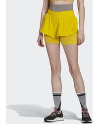 adidas By Stella Mccartney Truepurpose High Intensity Short - Geel