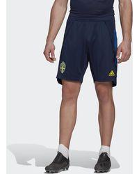 adidas Zweden Trainingsshort - Blauw
