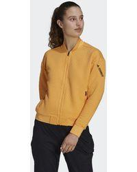 adidas Terrex Hike Fleece Jack - Oranje