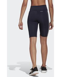 adidas Designed To Move High-rise Short Sport Tights - Blue
