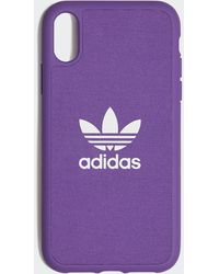 adidas Cover Moulded iPhone XR 6.1-Inch - Viola