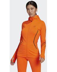 adidas Giacca by Stella McCartney TruePace Midlayer COLD.RDY - Arancione