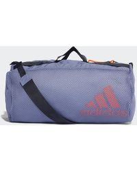 adidas Bolsa de deporte Sports Mesh - Morado