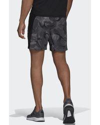 adidas AEROREADY Designed to Move Sport Camo-Print Shorts - Grau